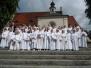 Pielgrzymka dzieci komunijnych do Górki Duchownej 02.06.2012